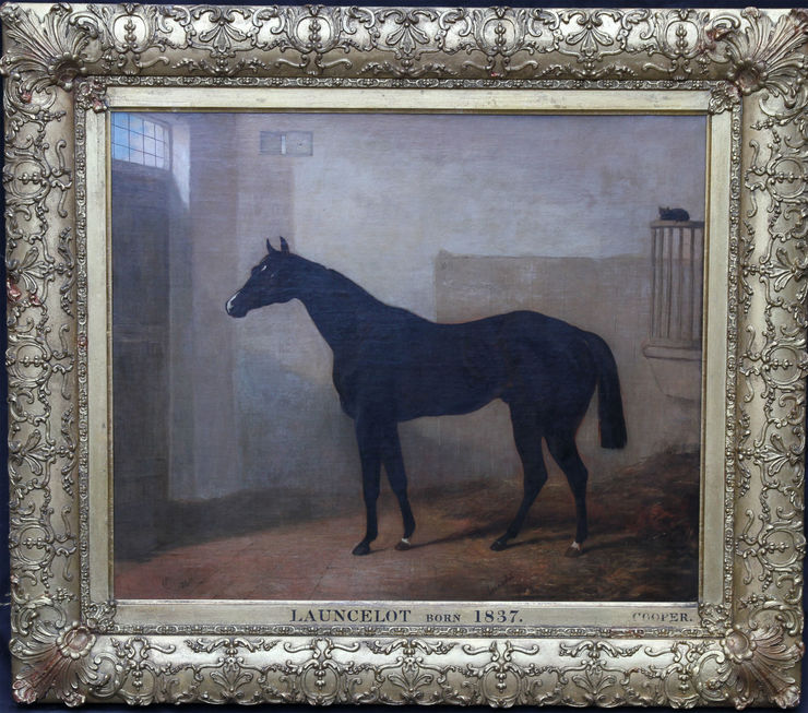 British Old Master Horse Portrait by Abraham Cooper at Richard Taylor Fine Art