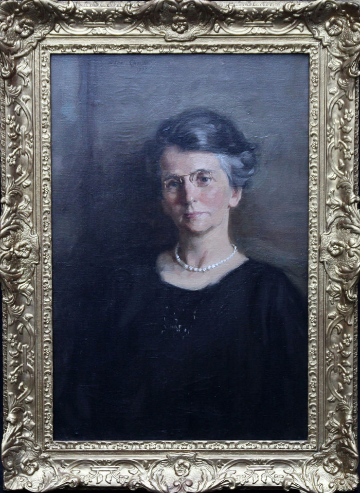 Scottish  Portrait of a Woman by Alexander Christie available at Richard Taylor Fine Art