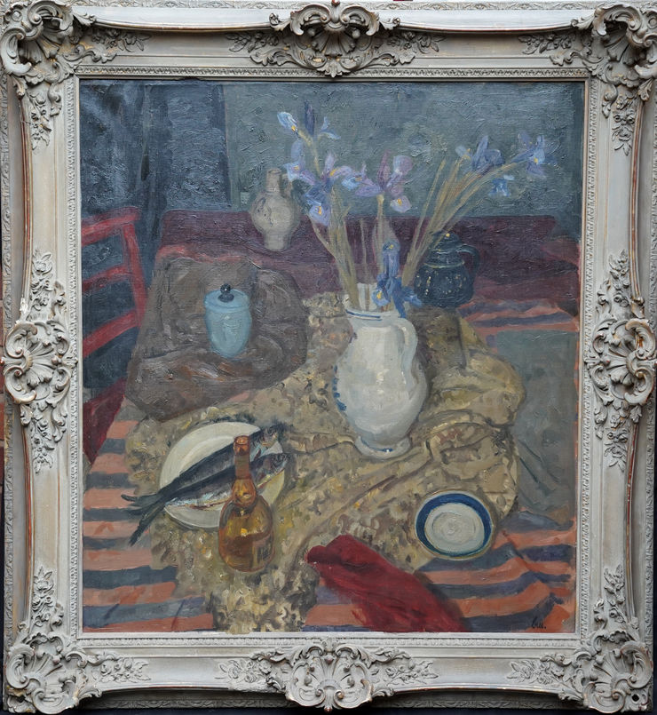 Exhibited Scottish Still Life 1951 by Alexander Cree Richard Taylor Fine Art