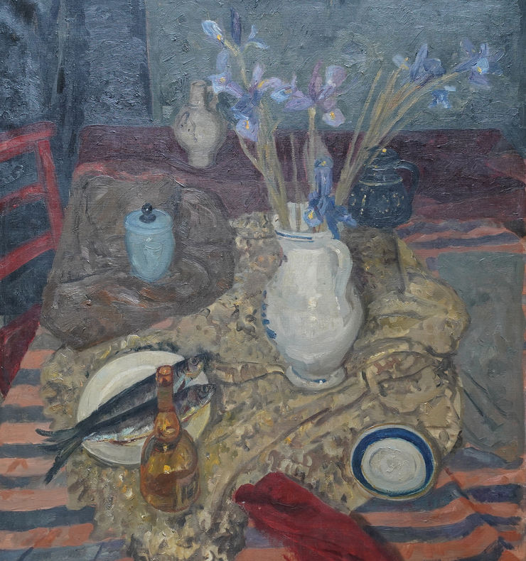 Scottish Still Life by Alexander Cree Richard Taylor Fine Art