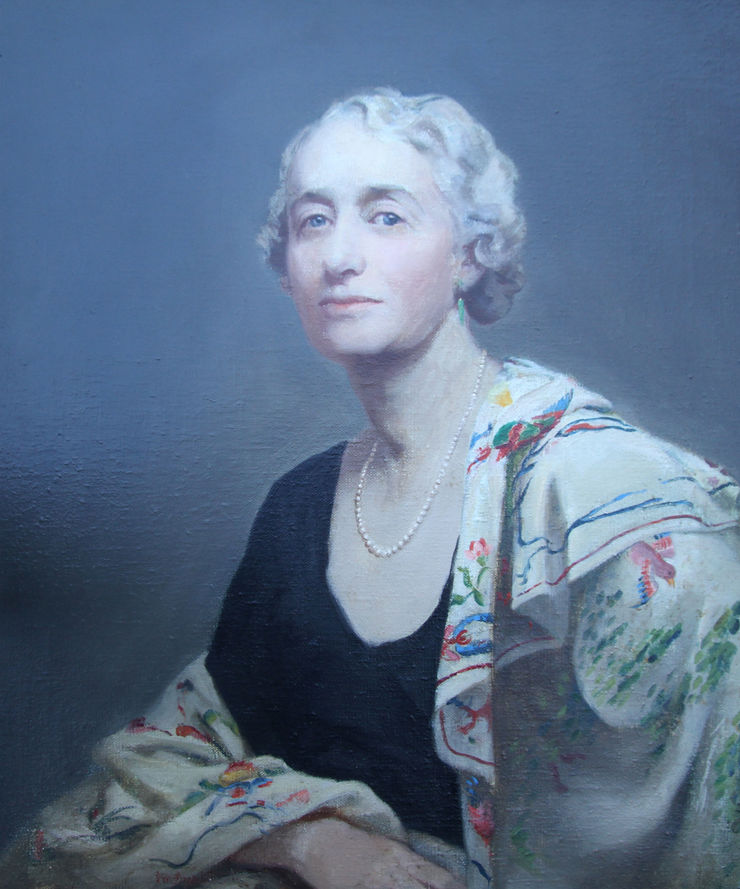 Portrait of Mrs Willis by Alice Mary Burton Richard Taylor Fine Art