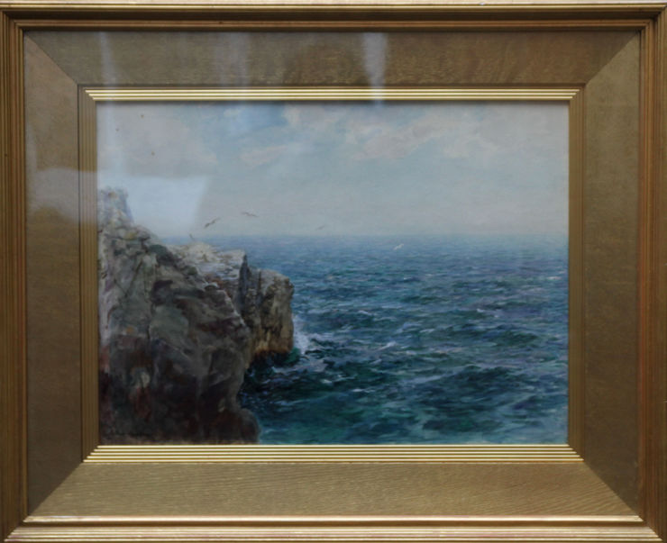 arthur hopkins -atlantic coast  seascape -richard taylor fine art