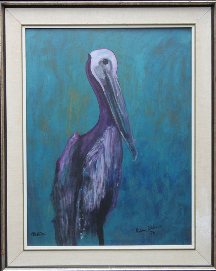 Expressionist Animal Art by Aubrey Williams at Richard Taylor Fine Art