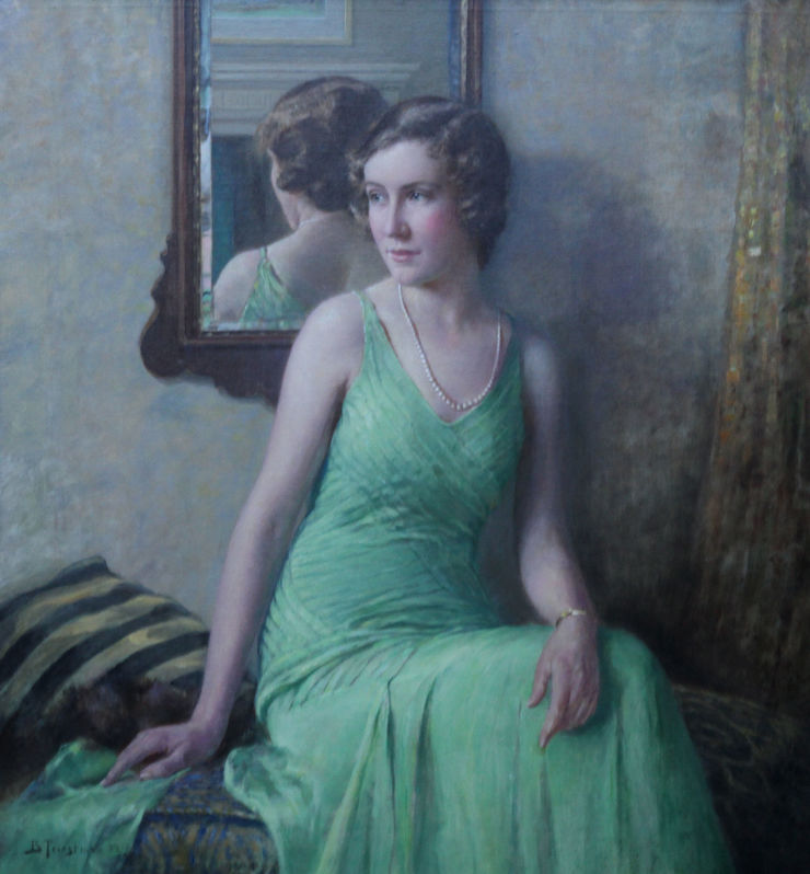 Billy Kathleen Bell by Bertram Priestman Richard Taylor Fine Art