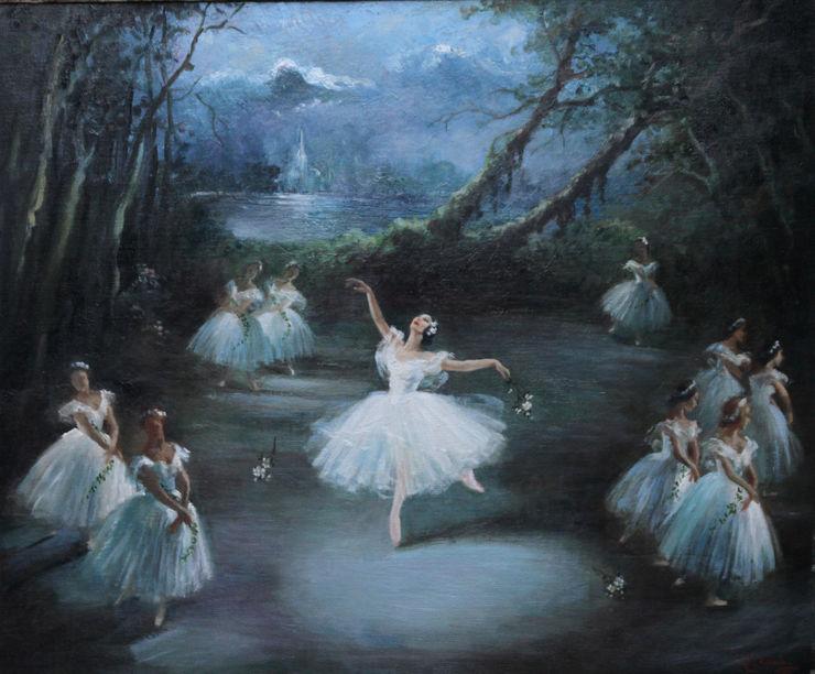 Carlotta Edwards Margot Fonteyn And The Corps De Ballet