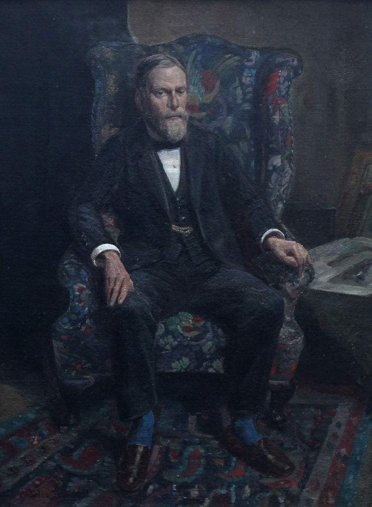 Portrait of Philip Joubert by Charles Cundall Richard Taylor Fine Art