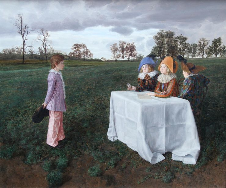 Claude Harrison - The Examiners - Richard Taylor Fine Art