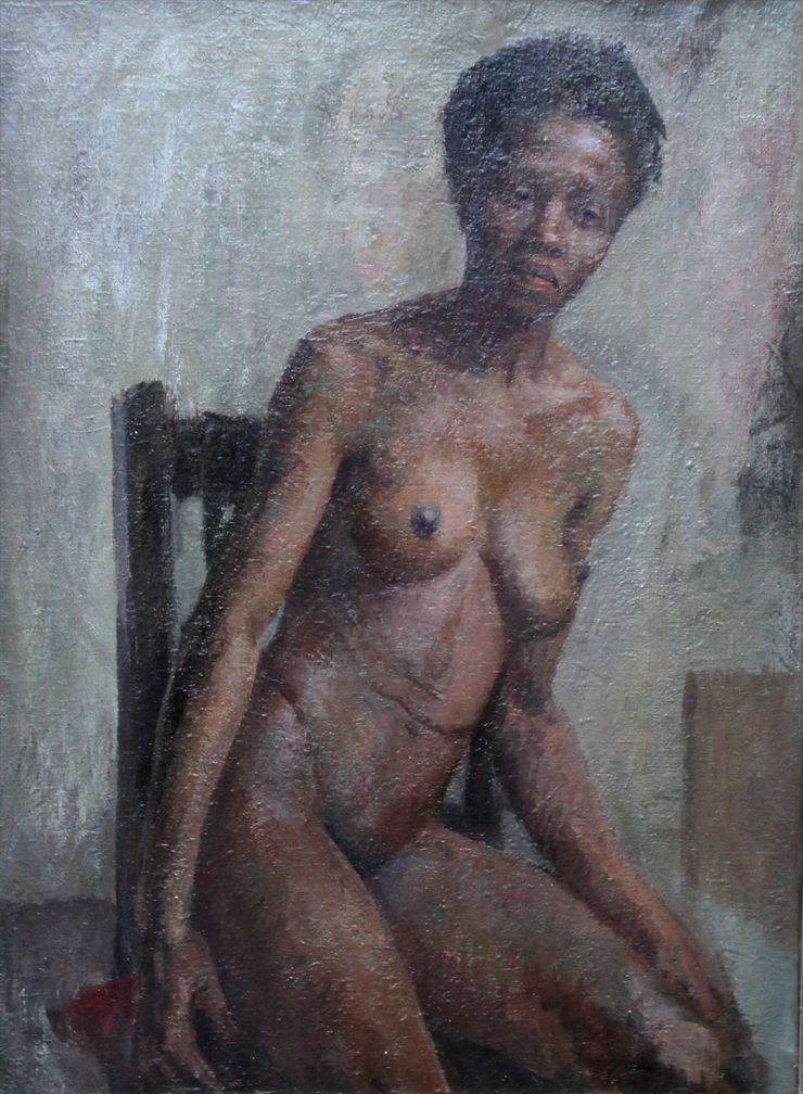 Seated Nude by Constance Anne Parker Richard Taylor Fine Art