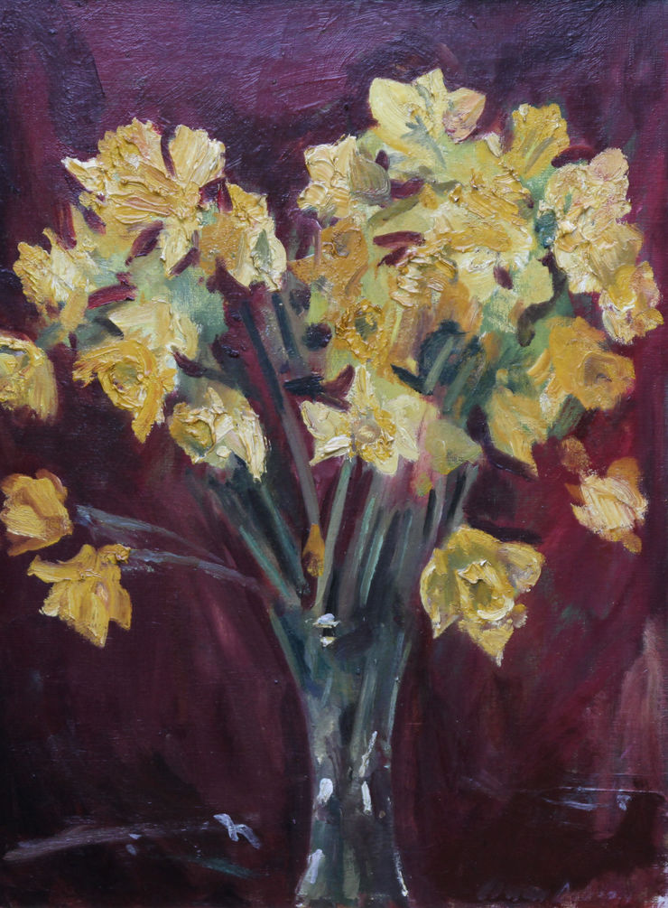 Daffodils by David Cowan Dobson Richard Taylor Fine Art