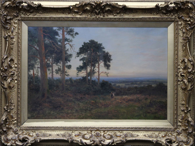 British Victorian Landscape by Daniel Sherrin at Richard Taylor Fine Art
