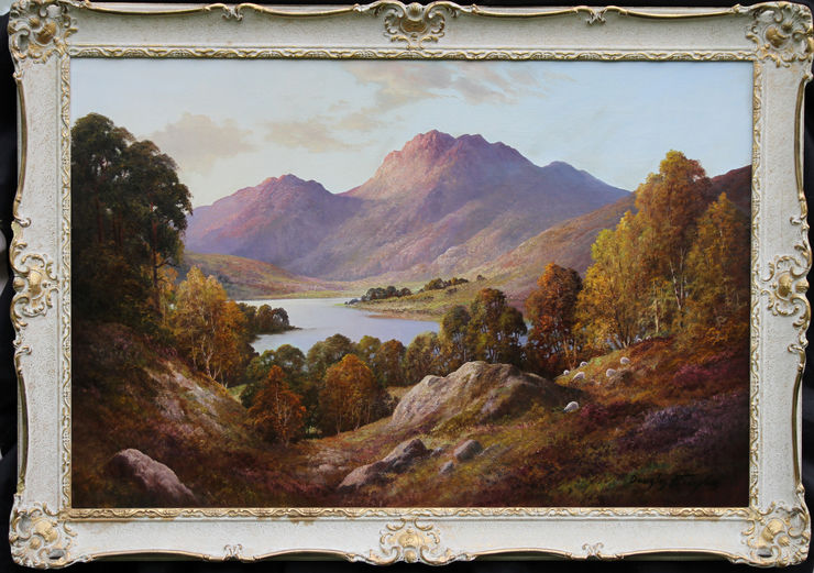Loch Nevis Scotland by Douglas Falconer  at Richard Taylor Fine Art