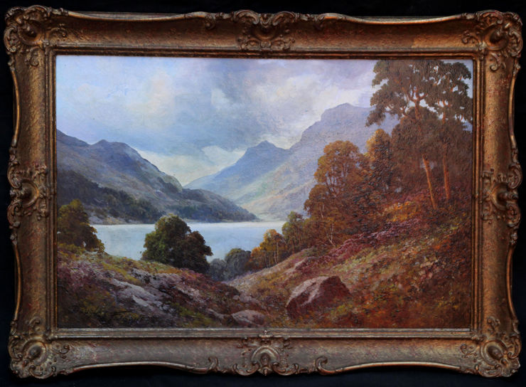 Scottish Landscape Loch Lubenig by Douglas Falconer Richard Taylor Fine Art