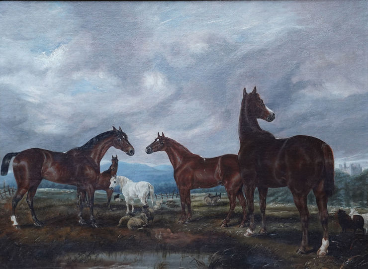 British Victorian Equine Art by Edwin Brown Taylor Fine Art