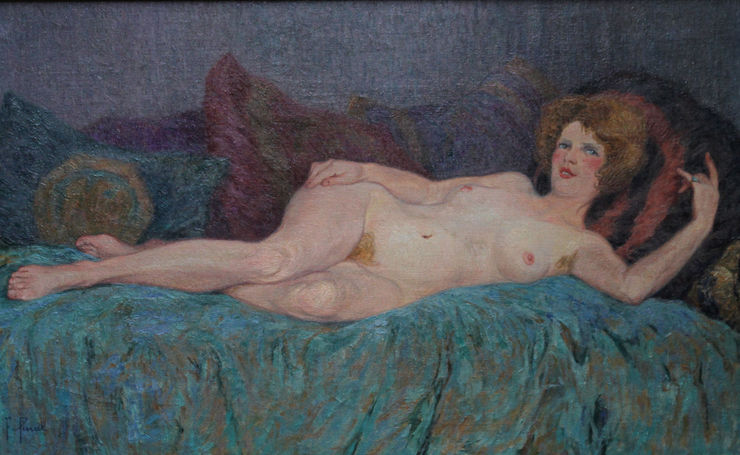 French Impressionist Nude by Fernand Pinal Richard Taylor Fine Art