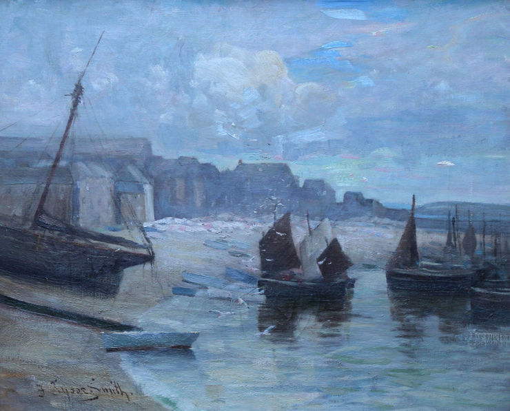 St Ives Harbour by Francis Tysoe Smith Richard Taylor Fine Art