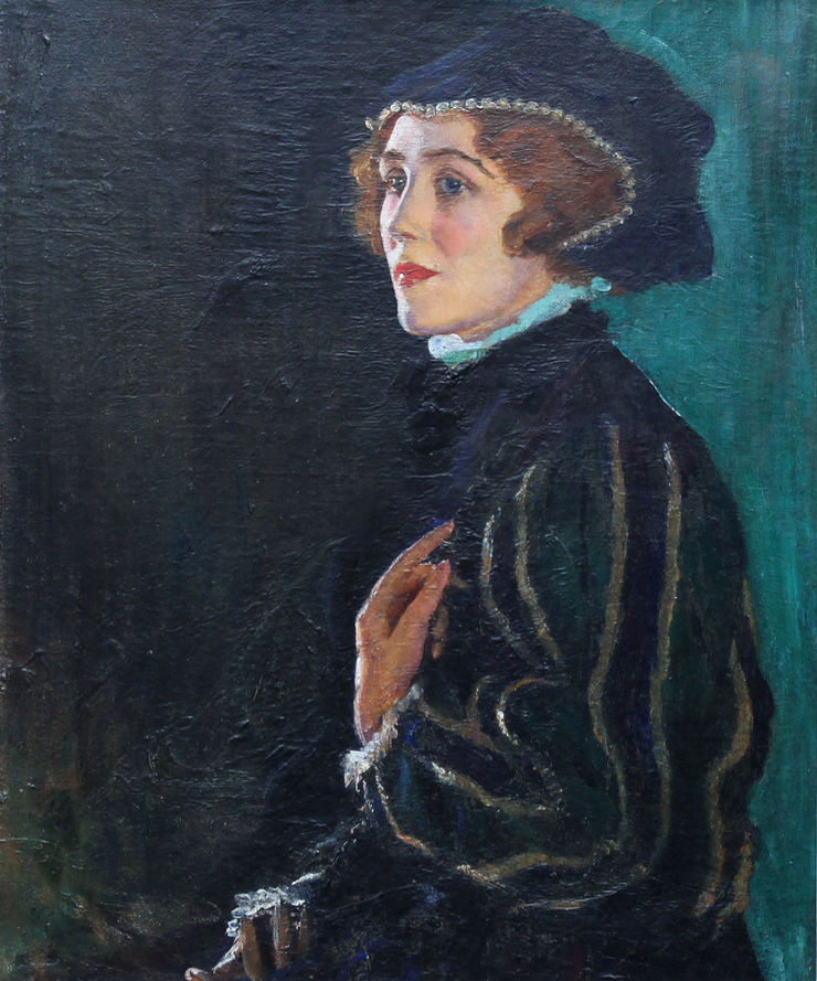 Actress Portrait by George Carr Drinkwater Richard Taylor Fine Art