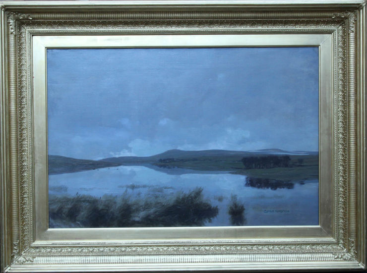 Scottish Impressionist Landscape by George Houston at Richard Taylor Fine Art