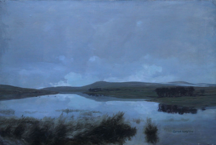 Scottish Impressionist Landscape by George Houston Richard Taylor Fine Art