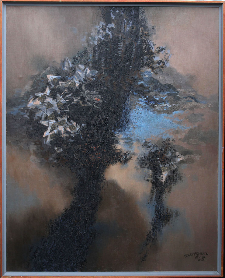 God of Winter Plants by Glyn Morgan at Richard Taylor Fine Art