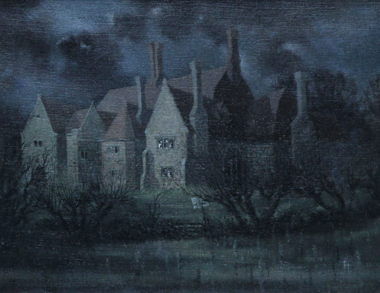 Laurence Henry Irving British Landscape The Dark House available at Richard Taylor Fine