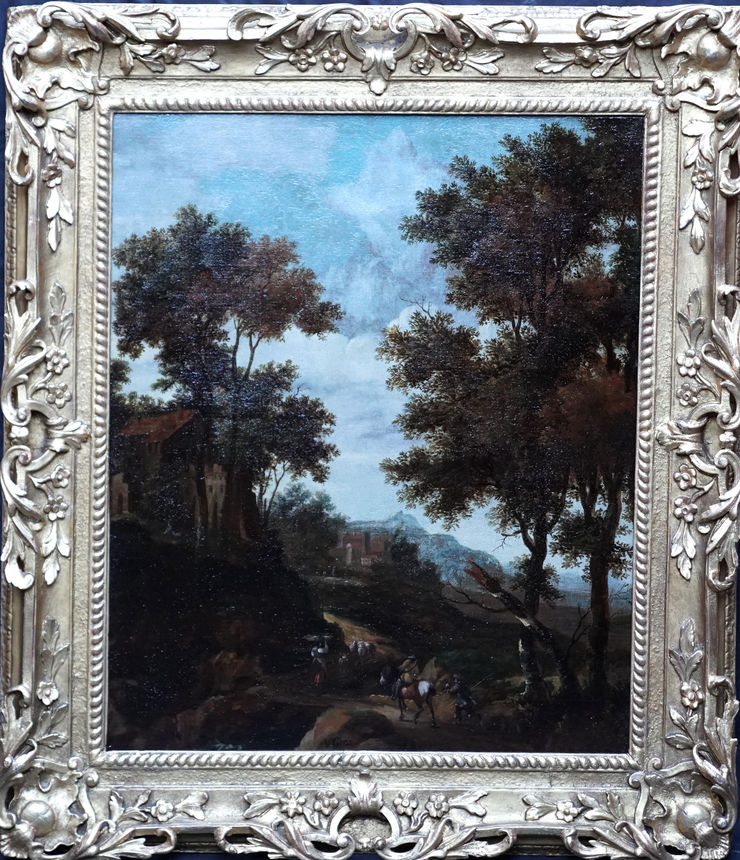 Dutch Golden Age Landscape by Jacob van der Croos at Richard Taylor Fine Art