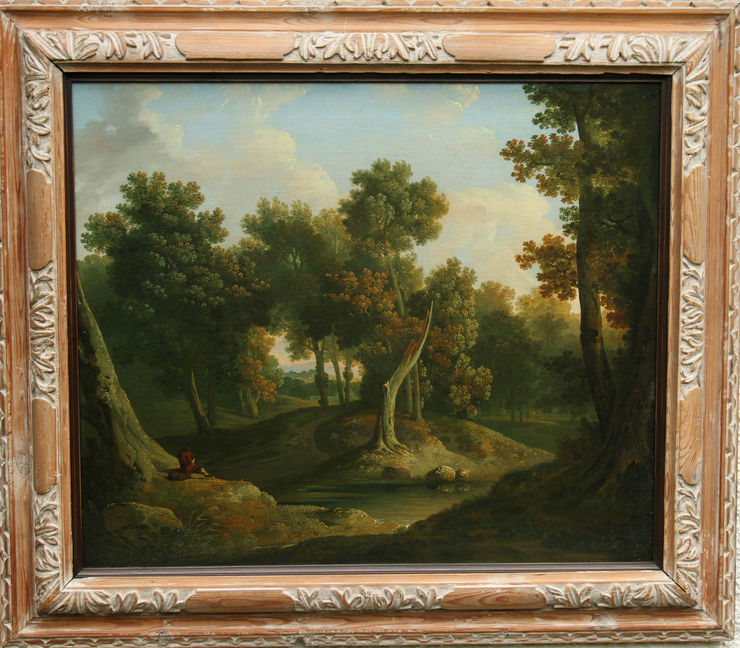 Old Master Landscape by James Arthur O'Connor at Richard Taylor Fine Art
