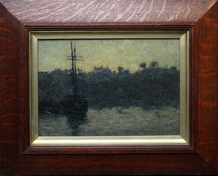 Impressionist Marine by James Bolivar Manson at Richard Taylor Fine Art