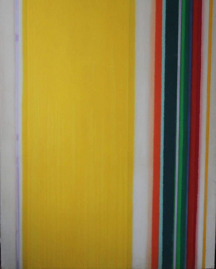 Colourfield Abstract by John Bainbridge Copnall at Richard Taylor Fine Art