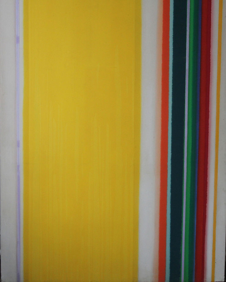 Colourfield Abstract by John Bainbridge Copnall Richard Taylor Fine Art