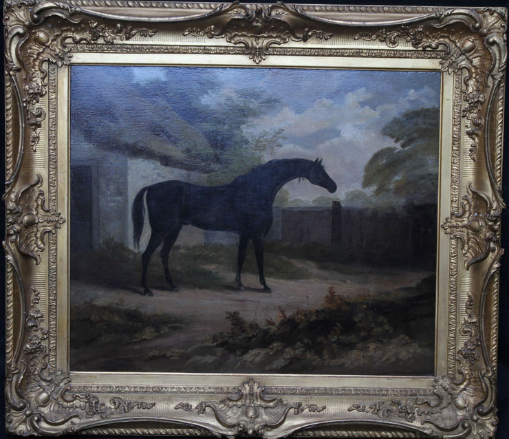 Old Master Racehorse by John Boultbee at Richard Taylor Fine Art