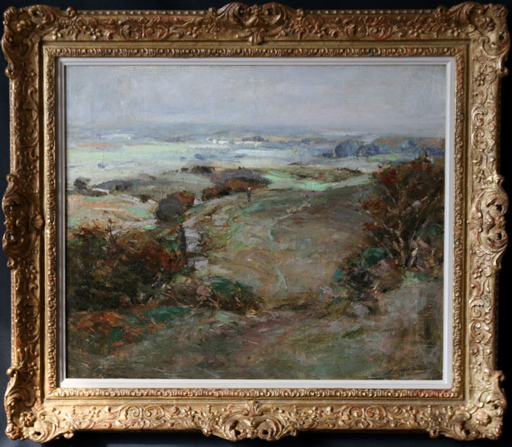 Impressionist Galloway Landscape by John Campbell Mitchell at Richard Taylor Fine Art