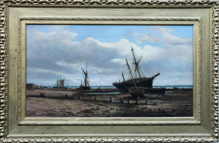 Ipswich Coastal Marine Seascape by John Moore Ipswich at Richard Taylor Fine Art