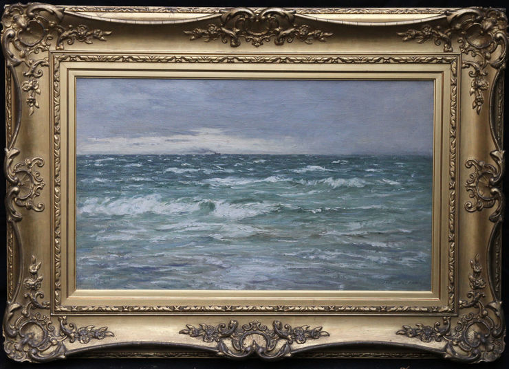 Clearing after the Rain Scottish Seascape By Joseph Henderson at Richard Taylor Fine Art