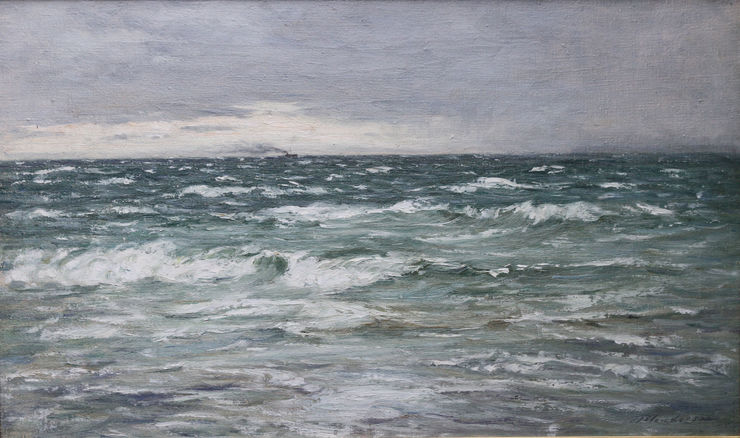 Victorian Scottish Impressionist Seascape by Joseph Henderson Richard Taylor Fine Art