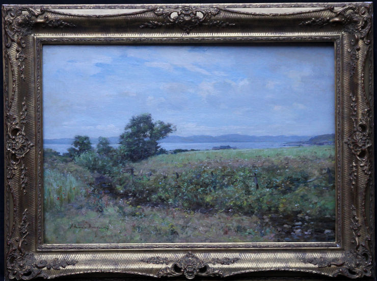 Victorian Scottish Coastal View  by Joseph Morris Henderson at Richard Taylor Fine Art