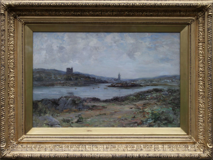 Tabert Castle Scotland by Joseph Morris Henderson at Richard Taylor Fine Art