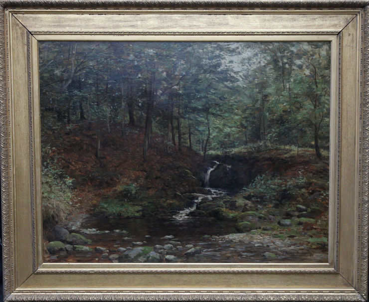 Scottish River Landscape - Stirling by Joseph Morris Henderson at Richard Taylor Fine Art