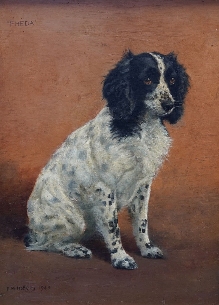 British Dog Art by Mabel Hollams Richard Taylor Fine Art