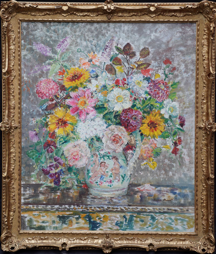 Post Impressionist Flowers Margaret Fisher Prout at Richard Taylor Fine Art