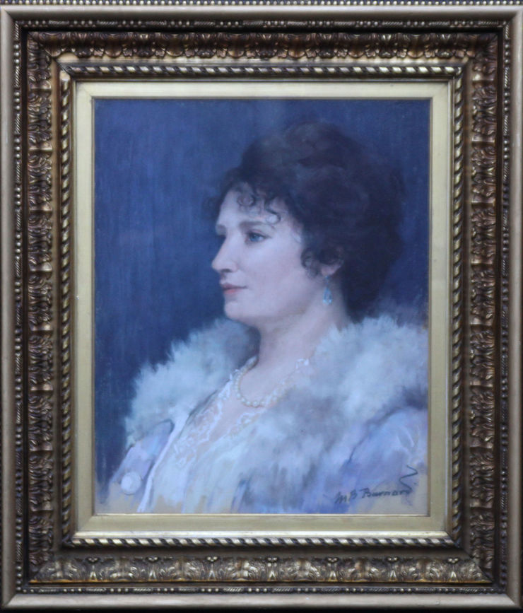 Scottish Female Portrait by Mary Barnard available at Richard Taylor Fine Art