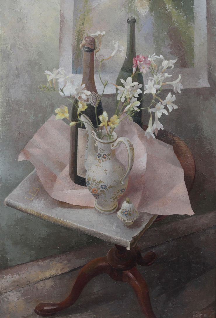 Exhibited Floral by Mary Kent Harrison Richard Taylor Fine Art