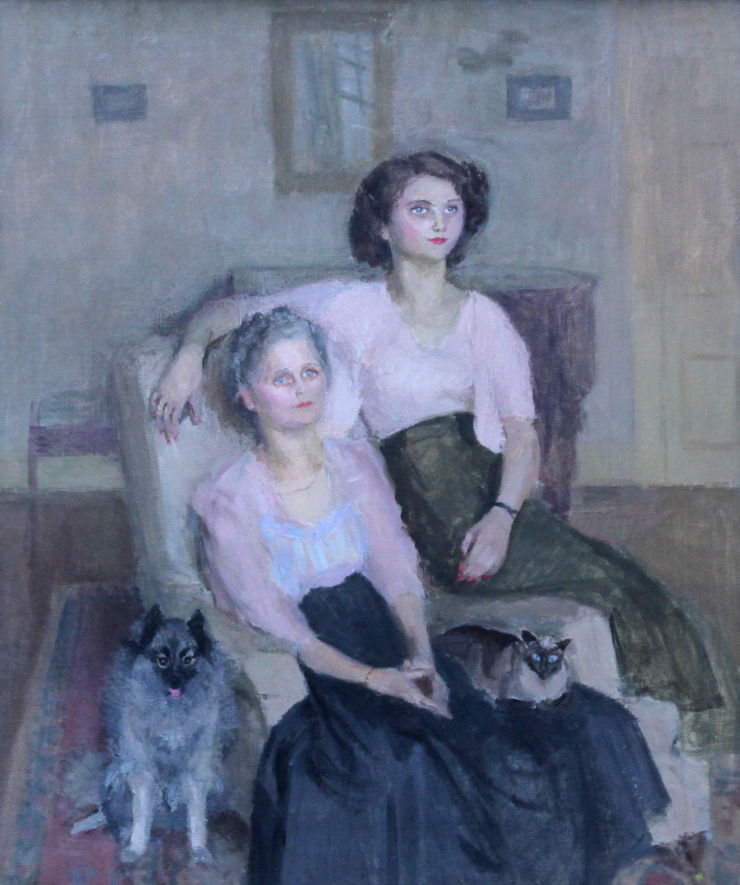 Family Portrait by Mary Potter Richard Taylor Fine Art