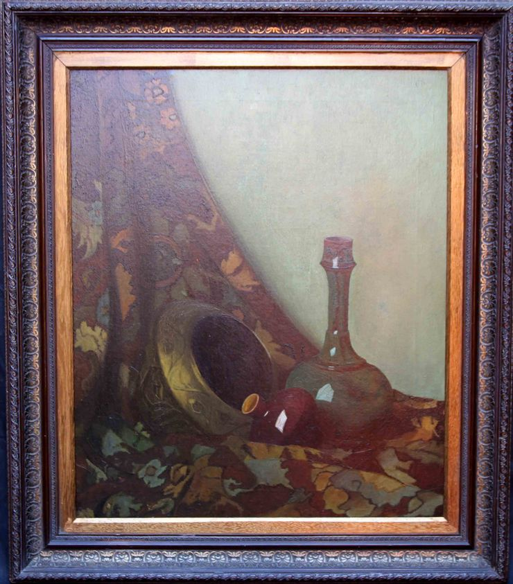 maxwell ashby armfield - stll life - richard taylor fine art -framed