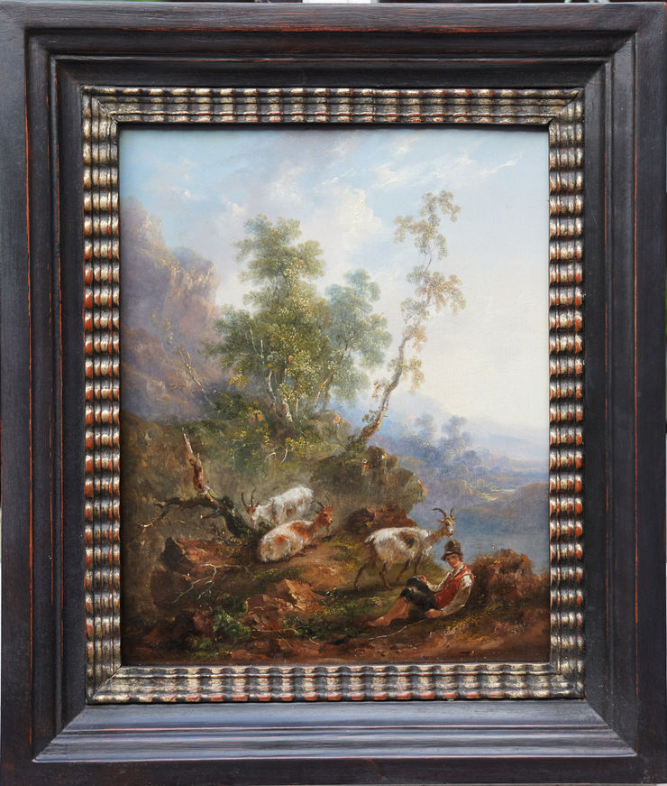 Dutch Pastoral Old Master by Nicolaes Berchem at Richard Taylor Fine Art