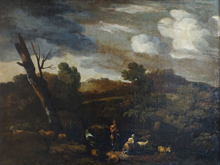 French Old Master Landscape by Gaspard Dughet Richard Taylor Fine Art