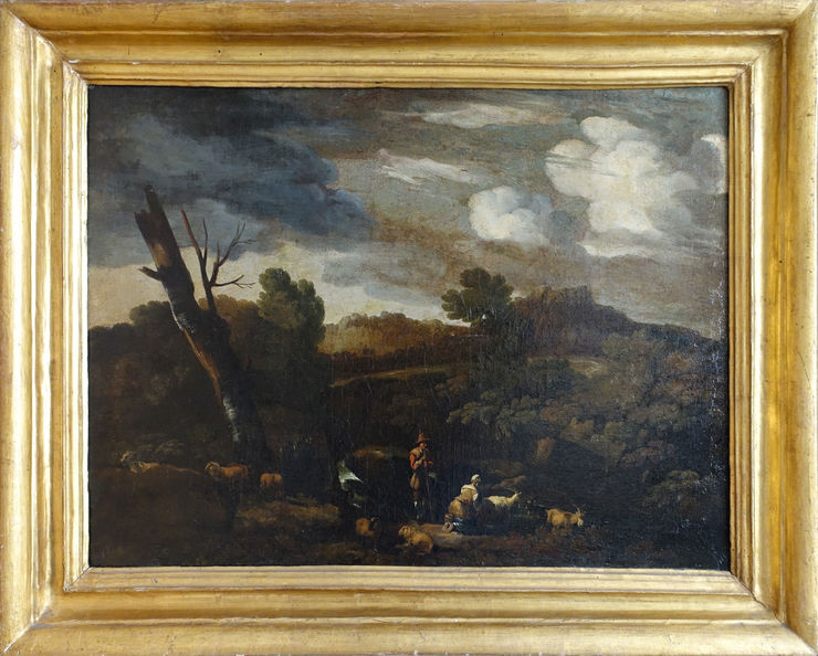 Arcadian Landscape by French Old Master Gaspard Dughet at Richard Taylor Fine Art