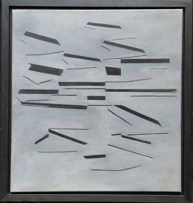 Conceptual Abstract by Penelope Ellis at Richard Taylor Fine Art