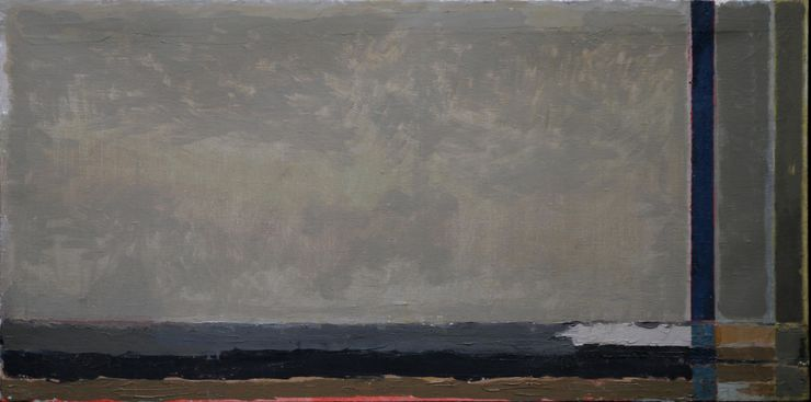 British Abstract Landscape 1958 by Peter L Field Richard Taylor Fine Art