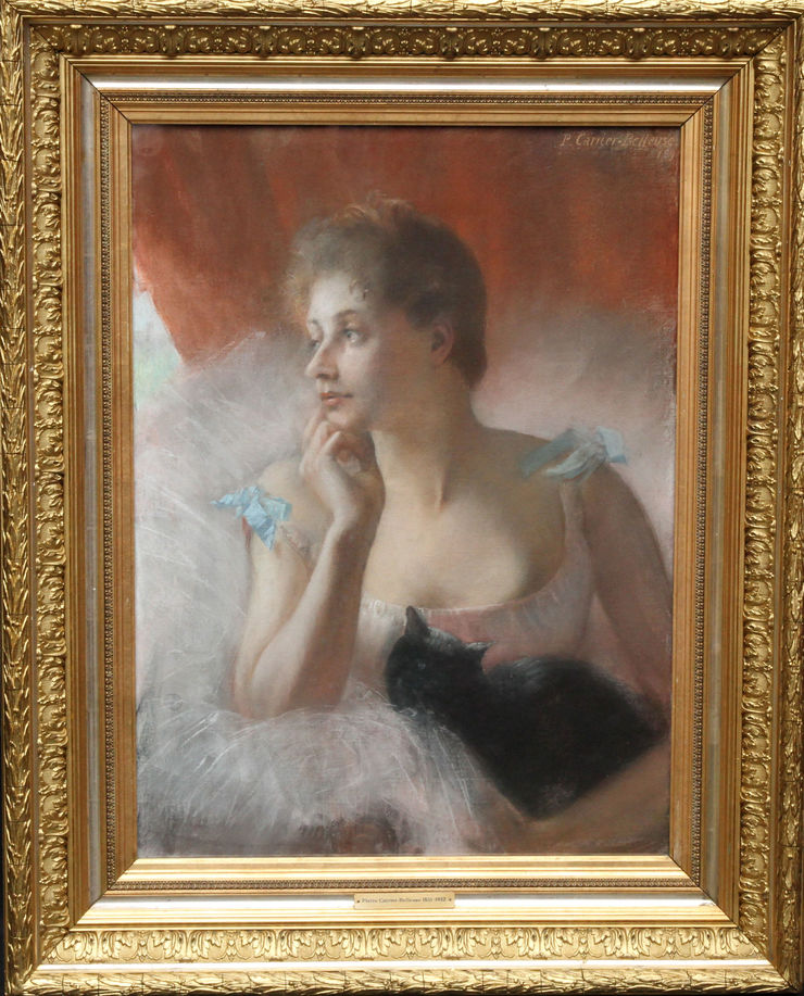 Pierre Carriere Belluse - French Impressionist Ballet Dancer -  Richard Taylor Fine At