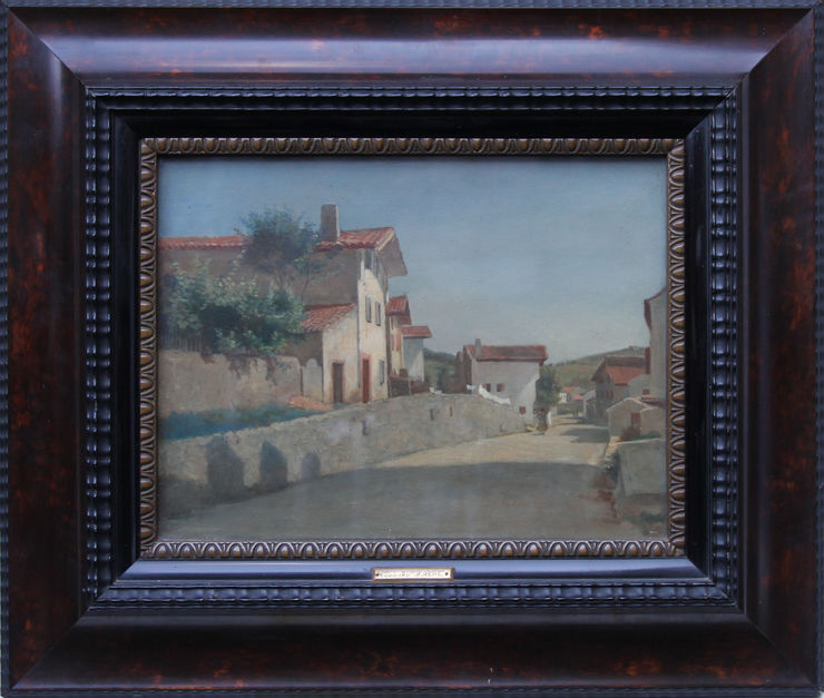 French 19th century Impressionist oil painting by Pierre Edouard Frere at Richard Taylor Fine Art